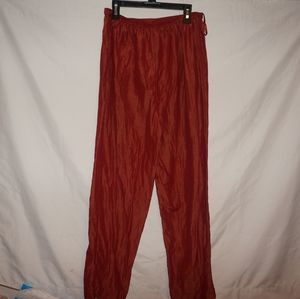 Eileen fisher silk linen pants S